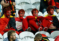 The delusion of Belgium supporters at the end of the match. delusione tifoso fine partita<br /> Lille 01-07-2016 Stade Pierre Mauroy Football Euro2016 Wales - Belgium / Galles - Belgio <br /> Quarter-finals. Foto Matteo Ciambelli / Insidefoto