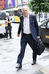"© Licensed to London News Pictures. 20/06/2019. Manchester, UK. In one of his last actions as Liberal Democrat Party leader , SIR VINCE CABLE arrives to meet Big Issue sellers in Manchester City Centre , alongside Cllr John Leach and Jane Brophy MEP . The party say they are highlighting what they call a "" Homeless Tax "" , which they oppose , and which could see fines of up to £1,000 imposed upon the homeless by Manchester City Council . The final Local Government Information Unit (LGiU) report from the Local Government Homelessness Commission (LGHC) – a year-long initiative set up to investigate how councils can fulfil their obligation to prevent homelessness - is due to be published . The Liberal Democrats will appoint a new leader in July . Photo credit: Joel Goodman/LNP"