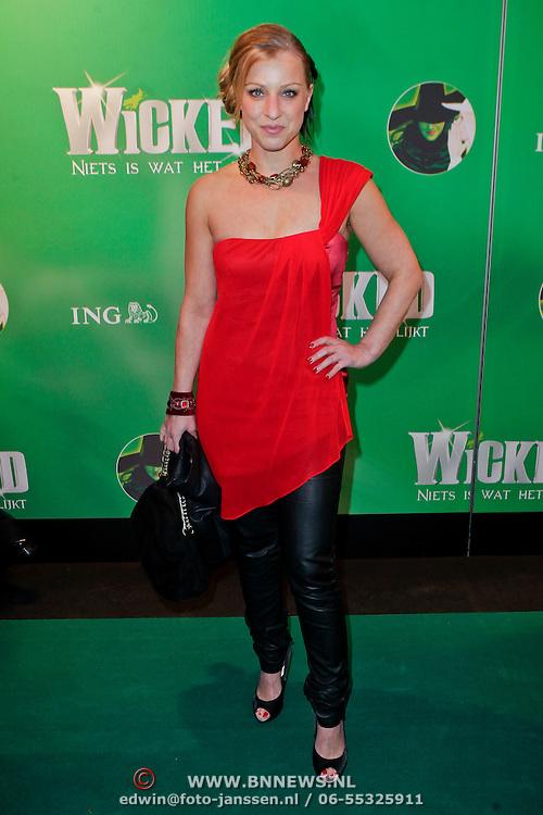 NLD/Scheveningen/20111106 - Premiere musical Wicked, Daphne Flint