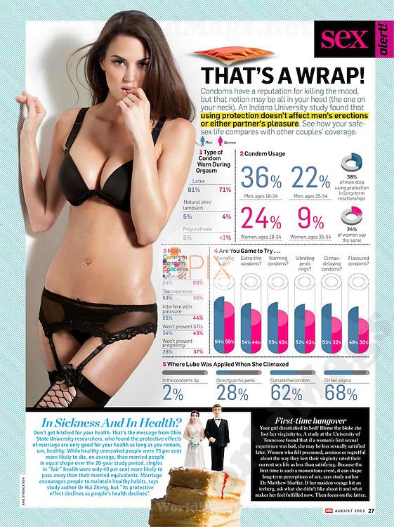 Tiffany Taylor in MEN'S HEALTH Australia :: August 2013
