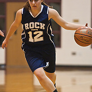 12/27/11 Wilmington DE: Council Rock guard Jessica Gerber #12 attempts to penetrate the paint during a Diamond State Classic game Tuesday Dec. 27, 2011 at St. Elizabeth High School High School in Wilmington Delaware...Special to The News Journal/SAQUAN STIMPSON