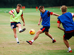 George Nurse in action as Bristol City Under 23s return for a second day of training ahead of their 2017/18 Season - Rogan/JMP - 01/07/2017 - Failand Training Ground - Bristol, England.