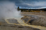 Sawmill Geyser, Upper Geyser Basin, Yellowstone National Park, Wyoming