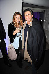 MELISSA DEL BONO and her brother LUCA DEL BONO at a party to celebrate the Mulberry Autumn Winter 2010 collection held at The Orangery, Kensington Palace, London on 21st February 2010.