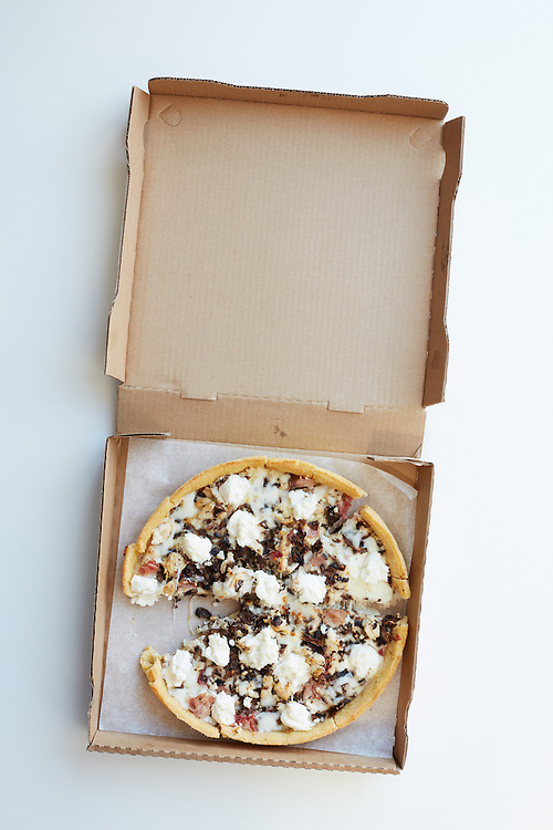 Deep Dish Ricotta Pizza