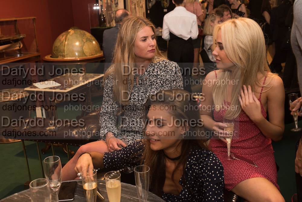 RACHEL HARRISON; NICOLA HUGHES; GEORGIA SALOMATH, The LAPADA Art & Antiques Fair - private view, Berkeley Sq. London. 12  September 2016
