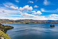 Laguna de Tota Lake  Boyaca in Colombia South America