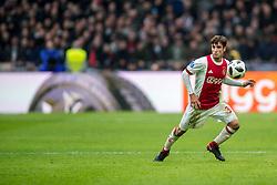 21-01-2018 NED: AFC Ajax - Feyenoord, Amsterdam<br /> Ajax was met 2-0 te sterk voor Feyenoord / Nico Tagliafico #31