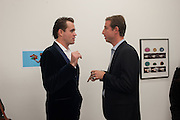 MATT BUTLER; JOSS STEINBERGER, Frieze week Drinks Party at the opening of the exhibition Island at the Dairy arts Centre, 7a Wakefield Street, Bloomsbury, London. 18 October 2013.