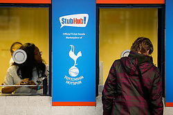 Fans arrive before the game - Photo mandatory by-line: Rogan Thomson/JMP - 07966 386802 - 30/11/2014 - SPORT - FOOTBALL - London, England - White Hart Lane - Tottenham Hotspur v Everton - Barclays Premier League.