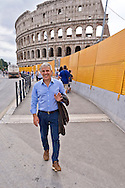 ROME, ITALY - SEPTEMBER 5: Alfonso Sabella, a judge at the Court of Naples,  was deputy prosecutor  Palermo's anti-Mafia pool  and Councillor legality of the City of Rome with Mayor Ignazio Marino on September 5, 2016 in Rome, Italy. (Photo by Stefano Montesi)