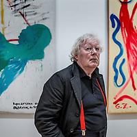 Nederland, Amsterdam, 27 mei 2016.<br /> OPWINDING - EEN TENTOONSTELLING VAN RUDI FUCHS<br /> 27 MEI - 2 OKT 2016<br /> Oud-directeur Rudi Fuchs kijkt terug op zijn lange loopbaan als museumdirecteur en tentoonstellingsmaker.InOpwindinggaat het om het ontdekken en beter leren kennen van kunstwerken.Fuchs neemt de bezoeker mee in zijn manier van kijken, die draait om tijd, geduld en zorgvuldigheid.<br /> <br /> <br /> <br /> <br /> Foto: Jean-Pierre Jans