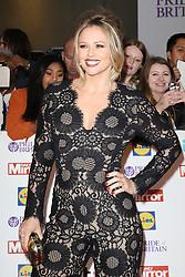 Kimberley Walsh, Pride of Britain Awards, Grosvenor House Hotel, London UK. 28 September, Photo by Richard Goldschmidt /LNP © London News Pictures