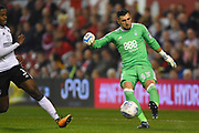 Nottingham Forest goalkeeper Jordan Smith (43) during the EFL Sky Bet Championship match between Nottingham Forest and Fulham at the City Ground, Nottingham, England on 26 September 2017. Photo by Jon Hobley.
