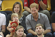 Prince Harry at the cycling competition - 27 Sept 2017