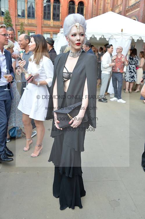 Ewa Willczynski at the V&A Summer Party 2017 held at the Victoria & Albert Museum, London England. 21 June 2017.