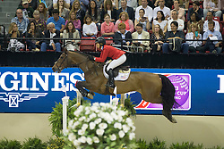 Madden Beezie, (USA), Simon for Steve Guerdat<br /> Longines FEI World Cup™ Jumping Final II<br /> Las Vegas 2015<br />  © Hippo Foto - Dirk Caremans<br /> 18/04/15