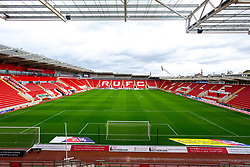 A General View of the Aesseal New York Stadium, home to Rotherham United - Mandatory by-line: Ryan Crockett/JMP - 15/09/2018 - FOOTBALL - Aesseal New York Stadium - Rotherham, England - Rotherham United v Derby County - Sky Bet Championship