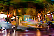 This image is of a carousel at the Philadelphia Zoo.