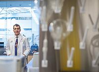 Dr All Olyael at OHSU Pharmacy school in Portland, Oregon