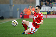 Nottingham Forest stiker Zach Clough (16)  during the EFL Sky Bet Championship match between Burton Albion and Nottingham Forest at the Pirelli Stadium, Burton upon Trent, England on 11 March 2017. Photo by Richard Holmes.