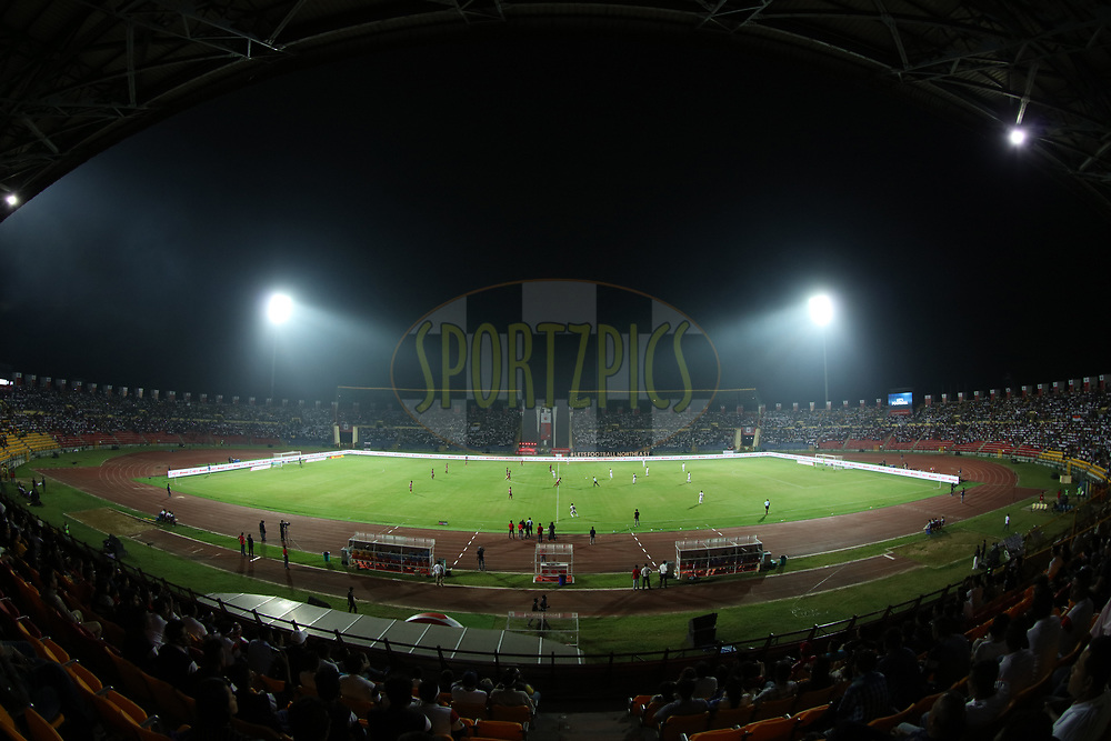 stedium gv  during match 2 of the Hero Indian Super League between NorthEast United FC and Jamshedpur FC held at the Indira Gandhi Athletic Stadium, Guwahati India on the 18th November 2017<br /> <br /> Photo by: Saikat Das  / ISL / SPORTZPICS