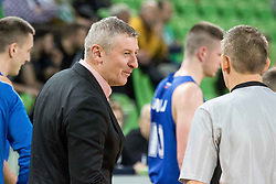 Damjan Novakovic coach of KK Rogaska during 2nd leg basketball match between KK Petrol Olimpija and KK Rogaska in quarter final of  Pokal SPAR 2018/19, on January 14, 2019 in Arena Stozice, Ljubljana, Slovenia. Photo by Matic Ritonja / Sportida