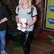 NLD/Hilversum /20131210 - Sky Radio Christmas Tree For Charity 2013, Britt Dekker