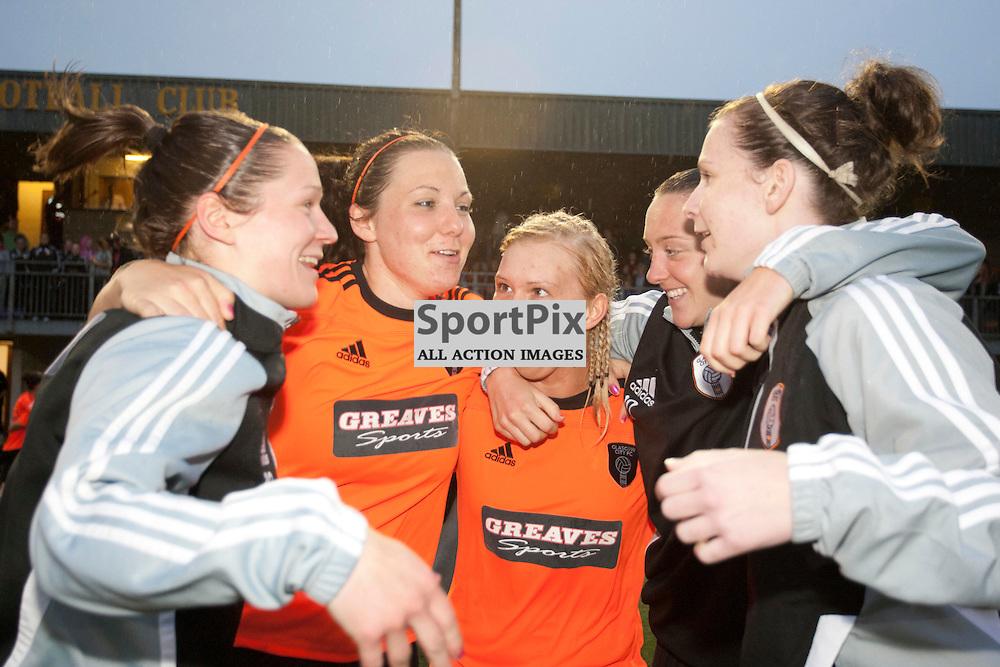 Glasgow City win 5-1. Spartans v Glasgow City. Scottish Women's Premier League Cup Final. Recreation Park, Alloa, 30 May 2012. Russell Sneddon | StockPix.eu