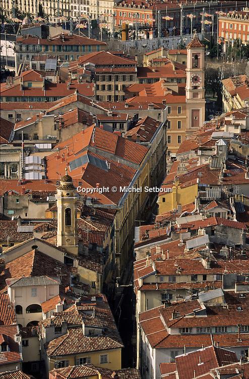 France. Nice. the old city      / la vieille ville  Nice  france   / R00115/    L1733  /  P102870