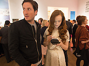 BLAISE PATRICK; OLIVIA GRANT, Young Patrons  at the Royal Academy, Burlington Gdns. London. 7 October 2013