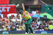 Heinrich Klassen during the International T20 match between South Africa and England at Supersport Park, Centurion, South Africa on 16 February 2020.