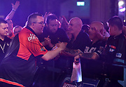 Stephen Bunting during the last 8 of the World Matchplay Darts 2019 at Winter Gardens, Blackpool, United Kingdom on 26 July 2019.