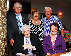 Pictured ast the Rossduane N.S. Past Pupils reunion in the Clew BAy Hotel.were Hugh Feehan, Ann and Seamus Feehan,.Tony Feehan and Noreen Feehan...Pic Conor McKeown