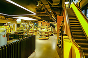 Inside the fan shop at the Signal Iduna Park stadium ahead of the Champions League round of 16, leg 2 of 2 match between Borussia Dortmund and Tottenham Hotspur at Signal Iduna Park, Dortmund, Germany on 5 March 2019.