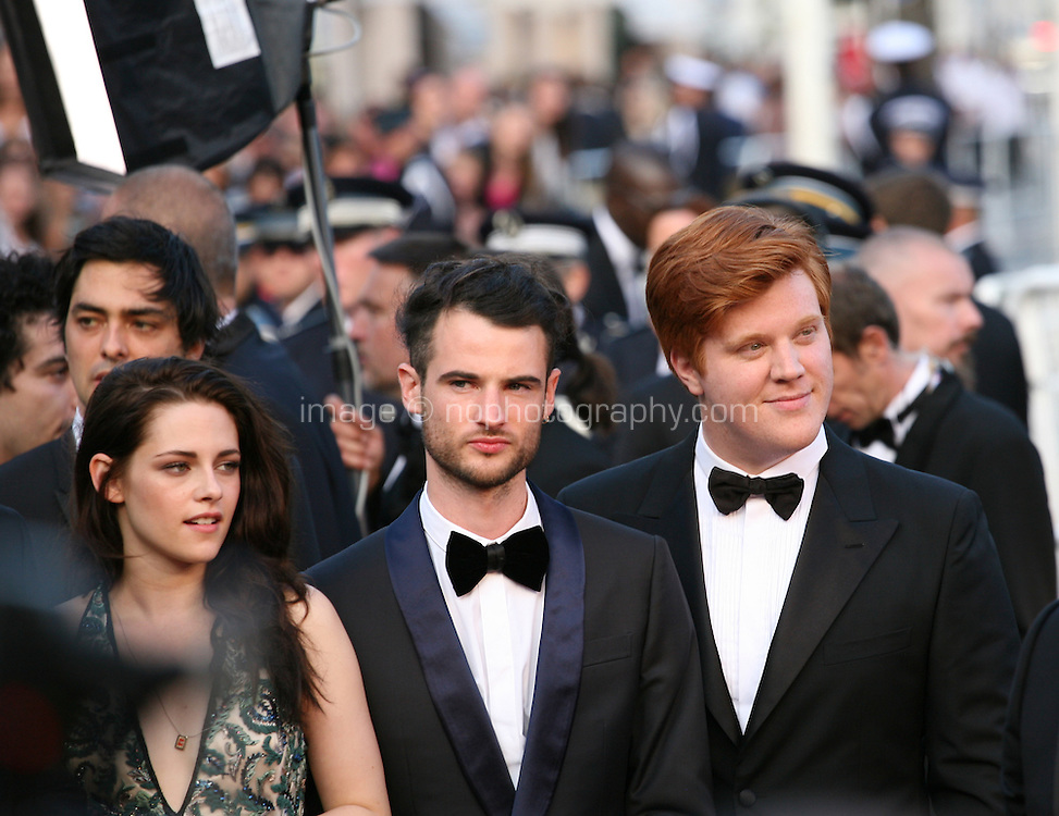 at the On The Road gala screening red carpet at the 65th Cannes Film Festival France. The film is based on the book of the same name by beat writer Jack Kerouak and directed by Walter Salles. Wednesday 23rd May 2012 in Cannes Film Festival, France.