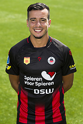Ali Messaoud during the team presentation of Excelsior Rotterdam on July 13, 2018 at the Van Donge & De Roo stadium in Rotterdam, The Netherlands