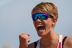 23-08-2019 NED; DELA NK Beach Volleyball Qualification, Scheveningen<br /> First day NK Beachvolleyball / Wies van Solkema
