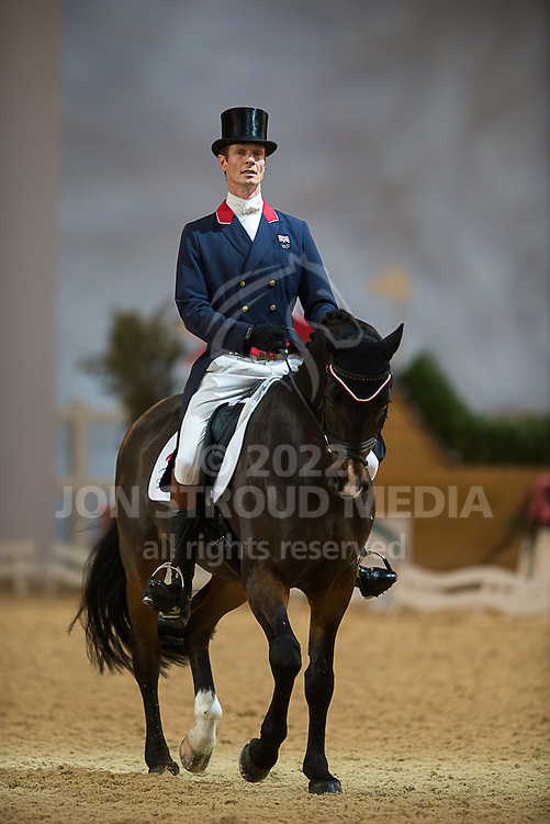 William Fox-Pitt (GBR) & Real Dancer - Dressage - Express Eventing - Horse World Live - ExCel London - 17 November 2012