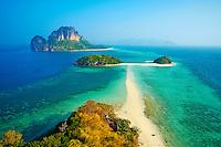 Thailande, province de Krabi, ile de ko Tub et de Ko Poda // Thailand, Krabi province, Ko Tub and ko Poda island