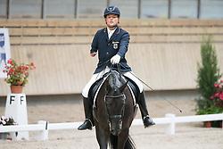 Lundqvist Eva, (SWE), Donnergraf<br /> Grade II Team Test<br /> Para-Dressage FEI European Championships Deauville 2015<br /> © Hippo Foto - Jon Stroud<br /> 18/09/15