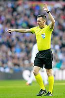 Spanish referee Xavier Estrada Fernandez during La Liga match. February 24,2018. (ALTERPHOTOS/Acero)