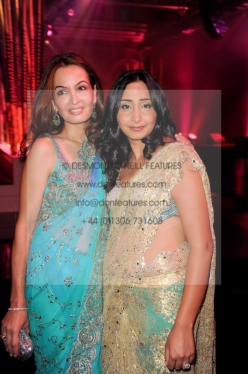Left to right, MARIANNE ADVANI and PRIYANKA GILL at ARTiculate, Pratham UK Fundraising Gala held at The Old Billingsgate Market, City Of London on  11th September 2010 *** Local Caption *** Image free to use for 1 year from image capture date as long as image is used in context with story the image was taken.  If in doubt contact us - info@donfeatures.com<br /> Left to right, MARIANNE ADVANI and PRIYANKA GILL at ARTiculate, Pratham UK Fundraising Gala held at The Old Billingsgate Market, City Of London on  11th September 2010