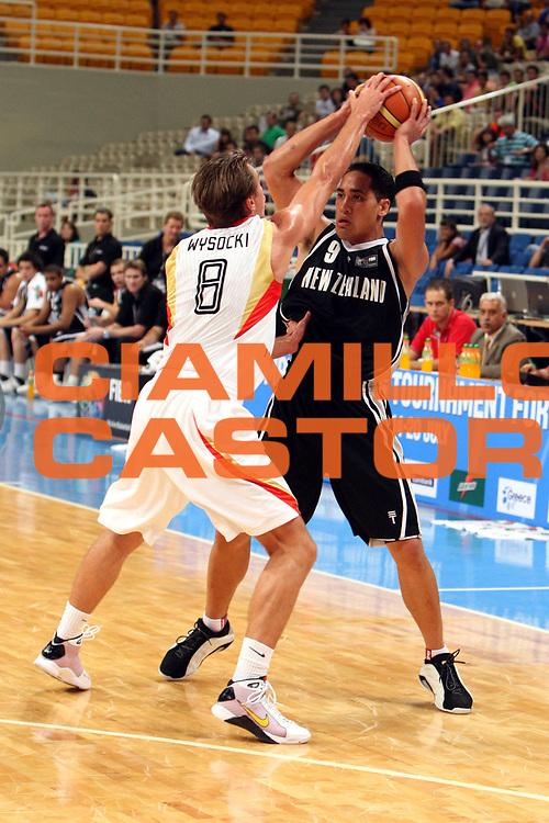 DESCRIZIONE : Atene Athens 2008 Fiba Olympic Qualifying Tournament For Men Germany New Zealand<br />GIOCATORE : Paora Winitana<br />SQUADRA : Germany Germania<br />EVENTO : 2008 Fiba Olympic Qualifying Tournament For Men <br />GARA : Germani Nuova Zelanda<br />DATA : 16/07/2008 <br />CATEGORIA : Passaggio<br />SPORT : Pallacanestro <br />AUTORE : Agenzia Ciamillo-Castoria/G.Ciamillo<br />Galleria : 2008 Fiba Olympic Qualifying Tournament For Men<br />Fotonotizia : Atene Athens 2008 Fiba Olympic Qualifying Tournament For Men Germania Nuova Zelanda<br />Predefinita :