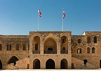 Emir Bachir Chahabi Palace Beit ed-Dine in mount Lebanon Middle east
