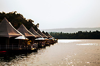 The 4 Rivers Floating Lodge in Koh Kong, Cambodia.