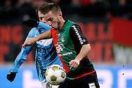 Onderwerp/Subject: NEC - VVV Venlo - Eredivisie<br /> Reklame:  <br /> Club/Team/Country: <br /> Seizoen/Season: 2012/2013<br /> FOTO/PHOTO: Remy AMIEUX (R) of NEC in duel with Barry MAGUIRE (L) of VVV Venlo. (Photo by PICS UNITED)<br /> <br /> Trefwoorden/Keywords: <br /> #04 #22 $94 ±1355229055132<br /> Photo- & Copyrights © PICS UNITED <br /> P.O. Box 7164 - 5605 BE  EINDHOVEN (THE NETHERLANDS) <br /> Phone +31 (0)40 296 28 00 <br /> Fax +31 (0) 40 248 47 43 <br /> http://www.pics-united.com <br /> e-mail : sales@pics-united.com (If you would like to raise any issues regarding any aspects of products / service of PICS UNITED) or <br /> e-mail : sales@pics-united.com   <br /> <br /> ATTENTIE: <br /> Publicatie ook bij aanbieding door derden is slechts toegestaan na verkregen toestemming van Pics United. <br /> VOLLEDIGE NAAMSVERMELDING IS VERPLICHT! (© PICS UNITED/Naam Fotograaf, zie veld 4 van de bestandsinfo 'credits') <br /> ATTENTION:  <br /> © Pics United. Reproduction/publication of this photo by any parties is only permitted after authorisation is sought and obtained from  PICS UNITED- THE NETHERLANDS