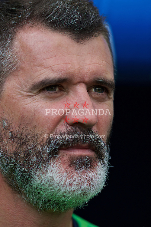 BORDEAUX, FRANCE - Saturday, June 18, 2016: Republic of Ireland assistant manager Roy Keane ahead of the UEFA Euro 2016 Championship Group E match against Belgium at Stade de Bordeaux. (Pic by Paul Greenwood/Propaganda)