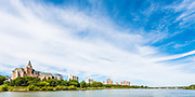 Art in the Park 2016 City on the River, Saskatoon Skyline