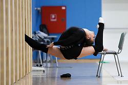 Monija Cebasek at practice of Slovenian Rhythmic Gymnastics Team before 36th European Rhythmic Gymnastics Championships in Budapest - Hungary, on May 15, 2017 in Gimnasticna dvorana, Ljubljana, Slovenia. Photo by Matic Klansek Velej / Sportida